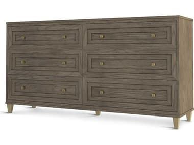 Sonder Distribution Pebble Grey 6 Drawers Double Dresser RD0804156