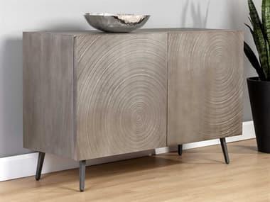 Sunpan Modern Home Grey / Black Buffet SPN105641