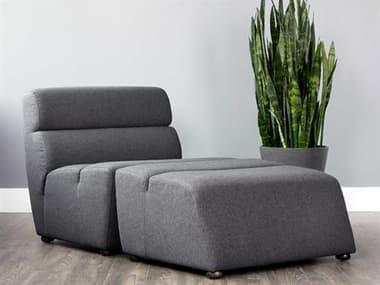 Sunpan Modern Home 5west Chair and Ottoman Set SPN103503SET