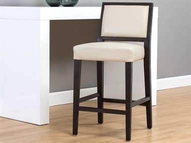 Sunpan Modern Home 5west Castillo Cream / Brown Side Counter Height Stool SPN106020