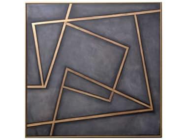 Sunpan Modern Home In A Maze Canvas Wall Art SPNA0198