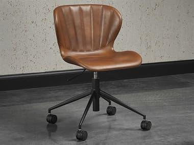 Sunpan Modern Home Junction Bravo Cognac Computer Chair SPN104793