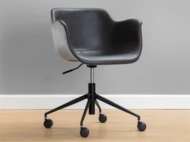 Sunpan Modern Home Junction Grey Computer Chair SPN105660