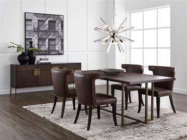 Sunpan Modern Home Mixt Dining Room Set SPN102928SET