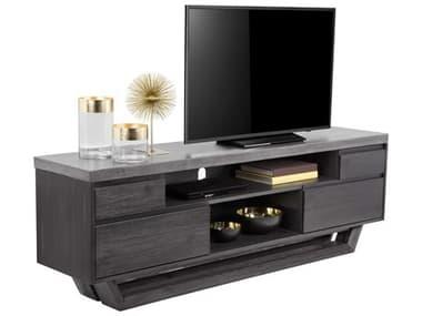 Sunpan Modern Home Mixt Grey / Coffee Bean TV Stand SPN101346