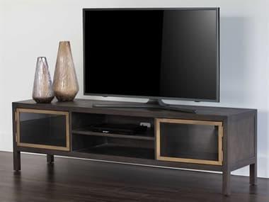 Sunpan Modern Home Mixt Brown / Antique Brass TV Stand SPN103340