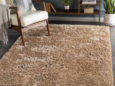 Surya Grizzly Camel Rectangular Area Rug SYGRIZZLY11REC