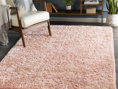 Surya Grizzly Pale Pink Rectangular Area Rug SYGRIZZLY13REC