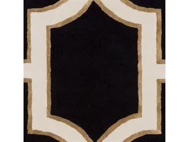 Surya Intermezzo Black / Cream Tan Square Sample SYINE1000SAMPLE