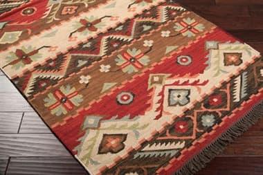 Surya Jewel Tone Rectangular Red Area Rug SYJT8REC