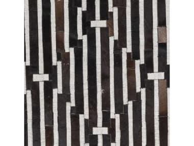 Surya Medora Black / Dark Brown Ivory Square Sample SYMOD1017SAMPLE