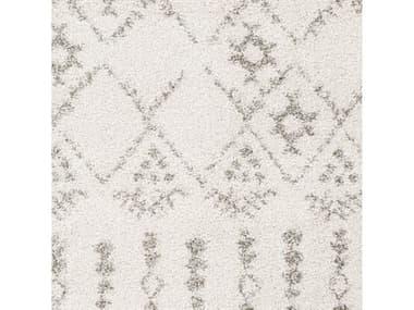 Surya Serengeti Shag Taupe / Khaki White Dark Brown Square Sample SYSGT2314SAMPLE