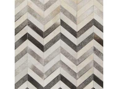 Surya Trail Ivory / Medium Gray Charcoal Taupe Light Khaki Dark Brown Square Sample SYTRL1129SAMPLE