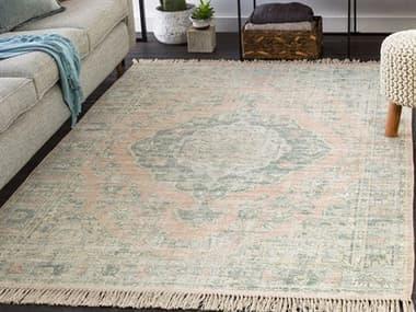 Surya Zainab Sage / Dark Green / Camel Rectangular Area Rug SYZAI2313REC