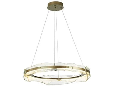 Synchronicity Solstice Textured Glass 36'' Wide LED Pendant Light SYN139780