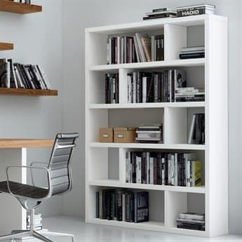 Temahome Dublin Pure White Bookcase TEM9000317569