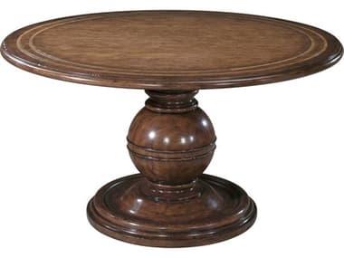 Theodore Alexander Cerejeira Veneer 54'' Wide Round Dining Table TAL5405271