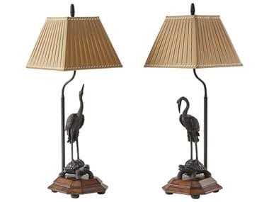 Theodore Alexander Brass / Morado Veneer Table Lamp TAL2021633