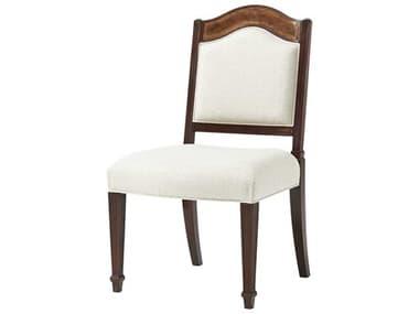 Theodore Alexander Mahogany / Satinwood Veneer Side Dining Chair TAL40050451AJM