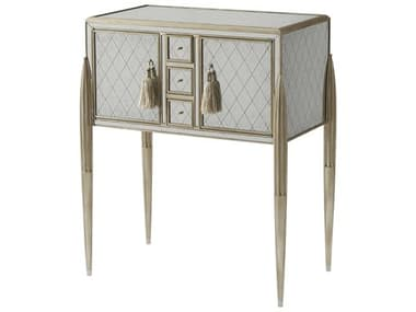Theodore Alexander Eglomise and silvered Bar Cabinet TAL6102155