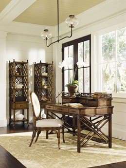 Tommy Bahama Bali Hai Enchanted Isle Accent Desk with Hutch TO593933933BSET
