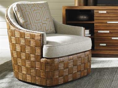 Tommy Bahama Island Fusion Loose Back Nagano Masami Swivel Arm Chair TO177911SW