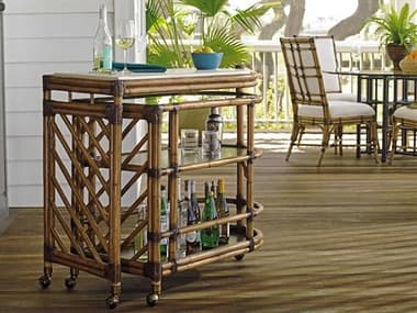 Tommy Bahama Twin Palms Cable Beach Bar Cart TO558862