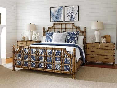 Tommy Bahama Twin Palms Poster Bed Bedroom Set TOSTKITTBEDSET