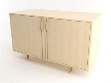 Tronk Design Chapman Storage Collection Brassy Gold Buffet TROCHP2U2DOMPLGD