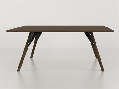Tronk Design Clarke Collection Black 40'' Wide Square Coffee Table TROCLKCOFWALSMSQBL