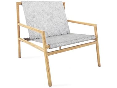 Tronk Design Gallagher Grey Felt / Oak Accent Chair TROGALLNGOAKFLTGRY