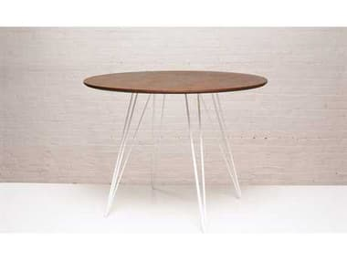 Tronk Design Williams Walnut Round Dining Table TROWILDINWALSMCIRWH