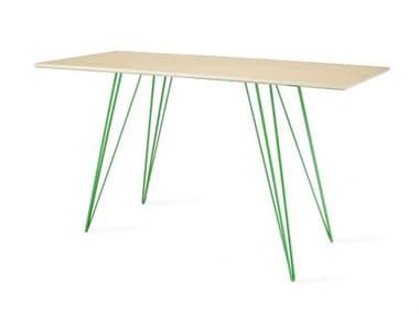Tronk Design Williams Table Collection Green Computer Desk TROWILDINMPLXSMRECGN