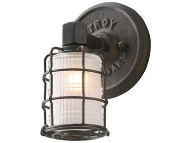 Troy Lighting Mercantile Vintage Bronze 6'' Wide Vanity Light TLB3841
