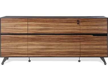 Unique Furniture 400 Series Zebrano Storage Credenza JE493ZE