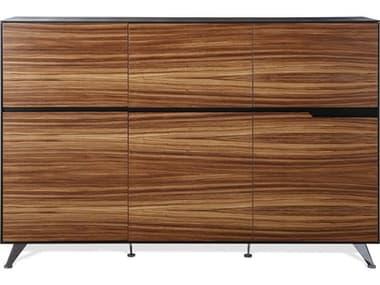 Unique Furniture 400 Series Zebrano Storage Credenza JE496ZE