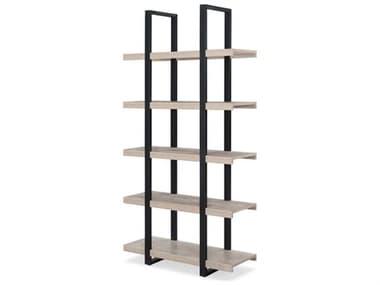 Unique Furniture Stavanger Grey Bookcase JES831GREY