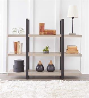 Unique Furniture Stavanger Grey Bookcase JES836GREY