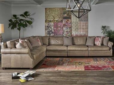 Universal Furniture Carrington Sumatra / Hudson Ash Sectional Sofa UF682560K69011