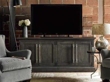 Universal Furniture Curated 78''L x 20''W Rectangular Graphite Emerson TV Console UF552966