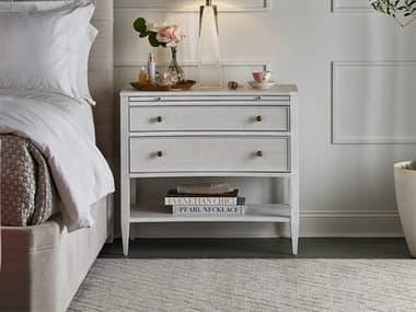 Universal Furniture Miranda Kerr Alabaster Two-Drawers Nightstand UF956A350