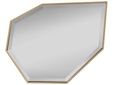 Universal Furniture Miranda Kerr Soft Gold Metal 23''W x 30''H Wall Mirror UF956C02M