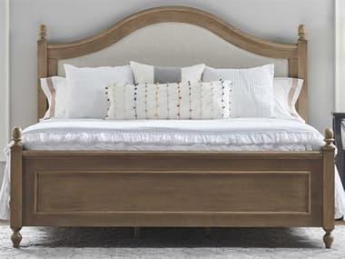 Universal Furniture Brown Queen Panel Bed UFU099G210B