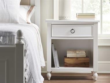 Universal Furniture White One-Drawer Nightstand UFU099H351