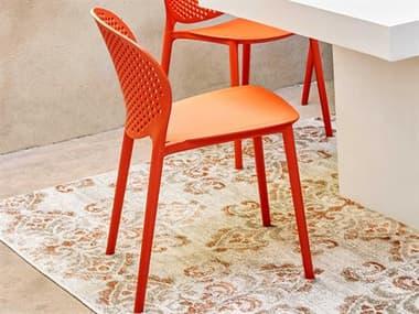 Urbia Bailey Dark Orange Side Dining Chair URBCDHBLYSCDOR