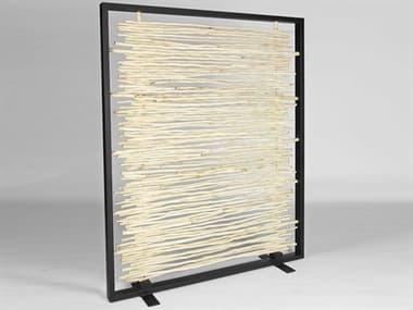 Urbia Bleached / Black 1 Panel Room Divider URBTNDR1181