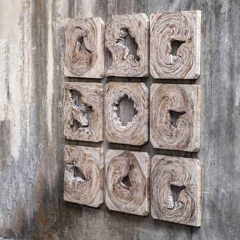 Uttermost Bahati Wood Wall Art UT04177
