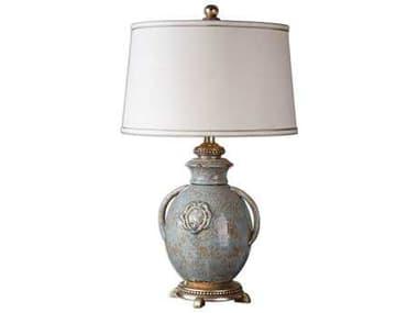Uttermost Cancello Blue Glaze Table Lamp UT26483