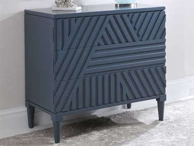 Uttermost Colby Deep Sea Blue Three-Drawer Single Dresser UT25383