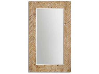 Uttermost Demetria 44 x 74 Oversized Wooden Floor Mirror UT07068